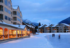 Winter Vacation in Colorado Royalty Free Stock Image