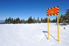 Winter vacation in mountain Stock Photography