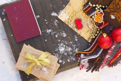 Winter vacation travel tips Stock Photo