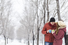 Winter vacation Stock Image