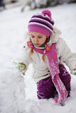 Winter vacations Stock Photography