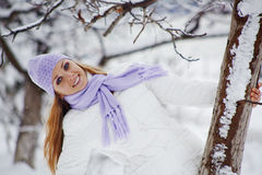 Winter vacations Stock Images