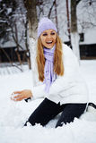 Winter vacations Royalty Free Stock Photography