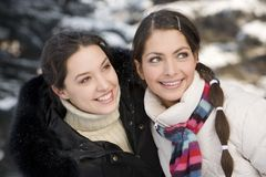 Winter vacations Stock Image