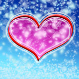 Winter valentine Stock Photo