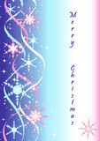 Winter vector background Royalty Free Stock Photo