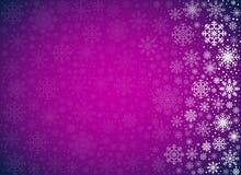 Winter vector BG Royalty Free Stock Photos