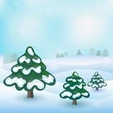 Winter vector Stock Photo