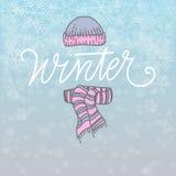 Winter Vector Illustration Royalty Free Stock Image