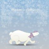 Winter Vector Illustration Royalty Free Stock Photos