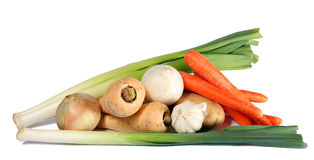 Winter vegetable bounty Stock Photography