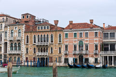 Winter Venice Stock Images