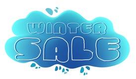 Winter-Verkauf Lizenzfreies Stockfoto