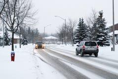 Winter-Verkehr Lizenzfreie Stockfotos