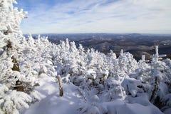 Winter in Vermont Stockfotos