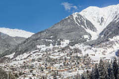 Winter view of Davos Royalty Free Stock Photo