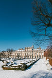 Winter View of La Granja de San Ildefonso Stock Images