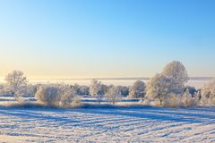 Winter view Stock Photography