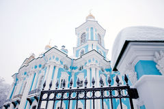 Winter view of Nicolsky Sobor Stock Images