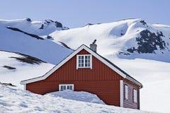 Winter on  Vikafjellet Royalty Free Stock Images