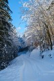 Winter in Vrata valley Royalty Free Stock Images