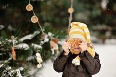 Winter Walk Royalty Free Stock Photography