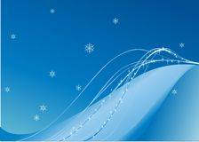 Winter wallpaper Stock Images