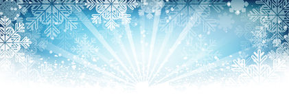 Winter  wallpaper. Snow, snowfall, snowflakes and shiny effect. Royalty Free Stock Photos