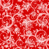 Winter wallpaper & snowflakes Royalty Free Stock Images