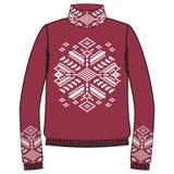 Winter warm sweater handmade, svitshot, jumper for knit, black color. Women's sweaters, men's sweater, unisex sweater. Stock Photos
