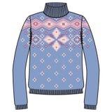 Winter warm sweater handmade, svitshot, jumper for knit, black color. Women's sweaters, men's sweater, unisex sweater. Stock Photo