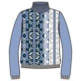 Winter warm sweater handmade, svitshot, jumper for knit, black color. Women's sweaters, men's sweater, unisex sweater. Royalty Free Stock Photo