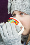 Winter warmer Royalty Free Stock Images