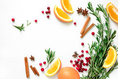 Winter warmer drink background Stock Image