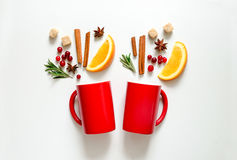 Winter warmer drink concept Royalty Free Stock Photos