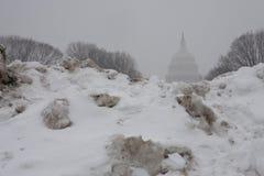 Winter at Washington DC, Capitol Royalty Free Stock Image