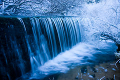 Free Winter Waterfall Royalty Free Stock Images - 17657499