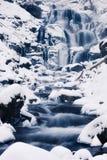 Winter waterfall Royalty Free Stock Photos