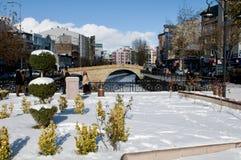Winter waterfront - Kastamonu Stock Photography