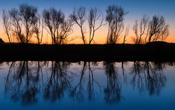 Winter Waters Reflection Royalty Free Stock Images