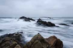 Winter Waves Royalty Free Stock Photography