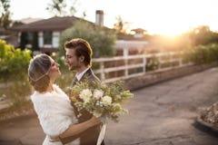 Winter wedding Royalty Free Stock Photo