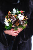 Winter wedding bouquet Royalty Free Stock Images