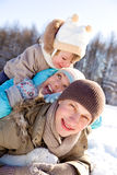 Winter weekend Stock Photos