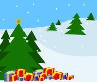 Winter-Weihnachten. Lizenzfreie Stockbilder
