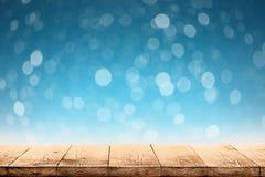 Winter-Weihnachtshintergrund mit Schnee lizenzfreie abbildung