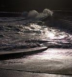 Winter-Wellen stockfotografie