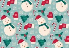 Winter wendet nahtloses Muster ein Lizenzfreie Stockfotos