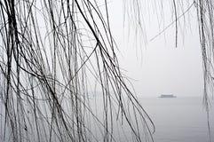 Winter on West Lake, Hangzhou, China Royalty Free Stock Image