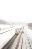 Winter-Wetter an seinem größten Lizenzfreie Stockbilder